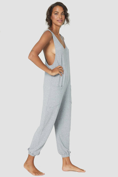 HACCI JUMPSUIT HEATHER GREY - Spiritual Gangster