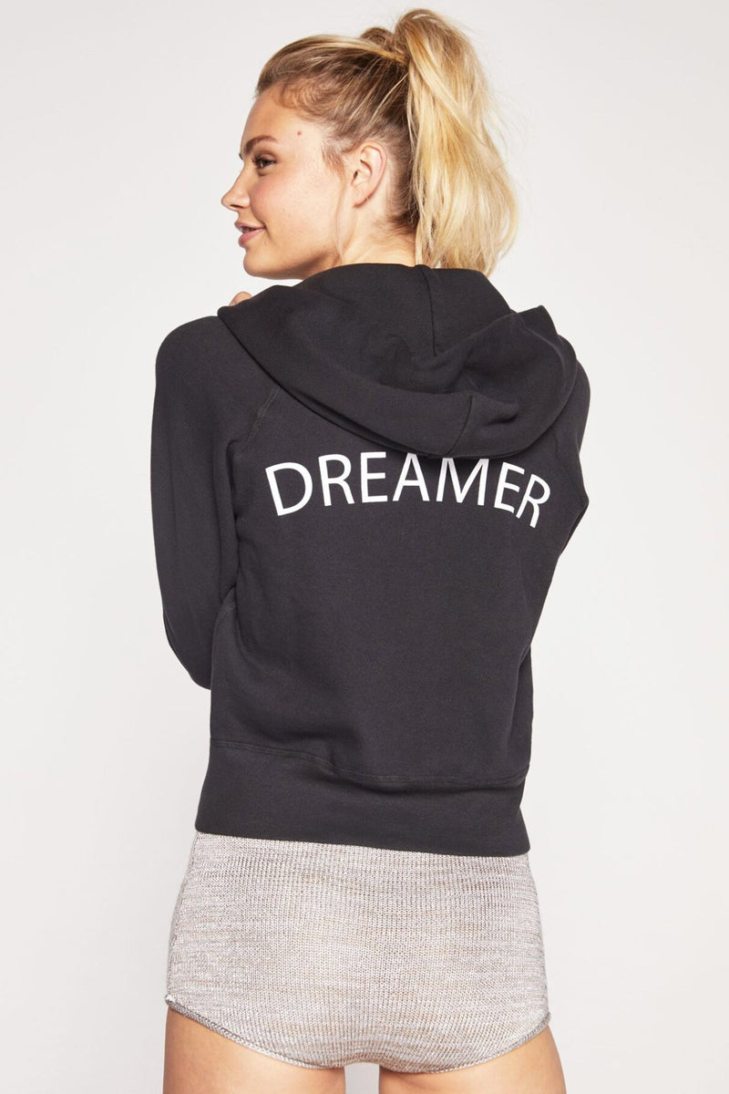 DREAMER PERFECT ZIP HOODIE VINTAGE BLACK