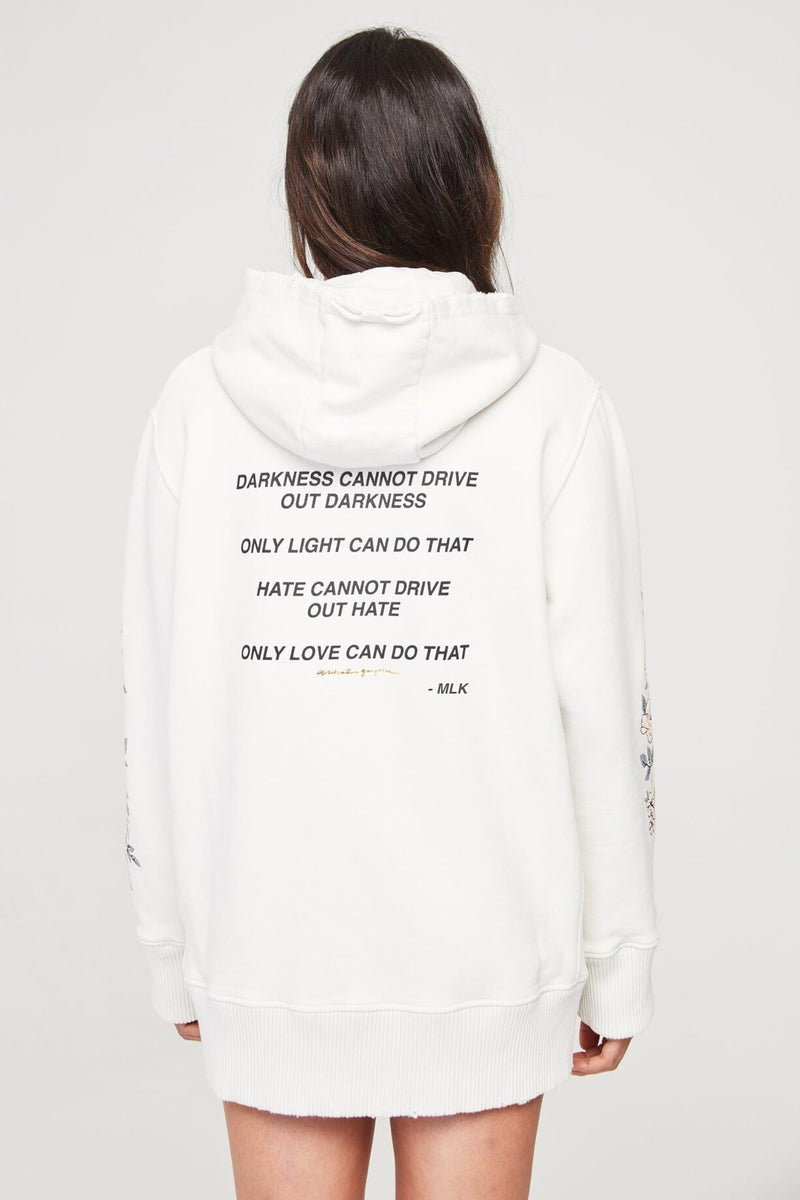 Let Love Light the Way Oversized Hoodie