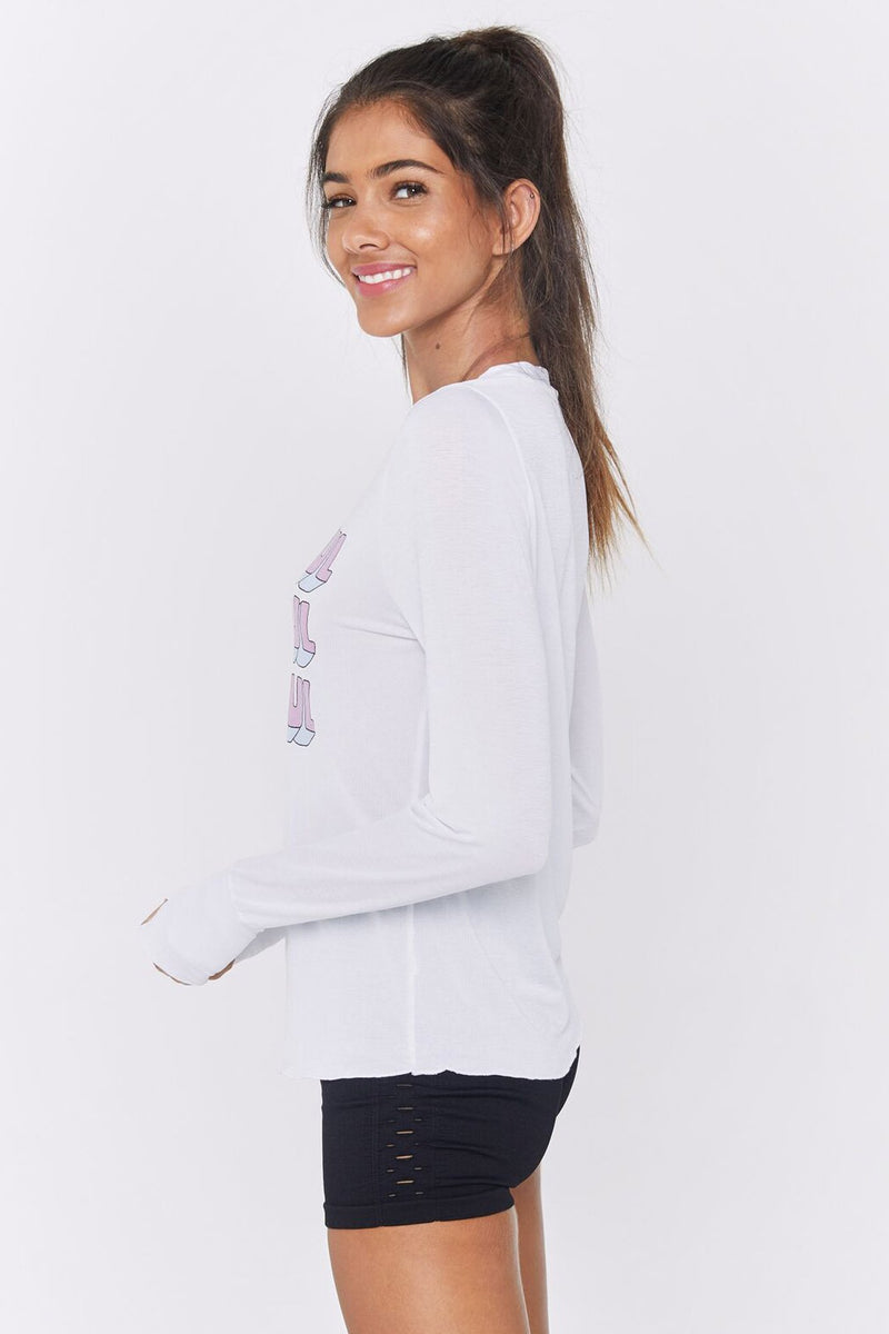 GRATEFUL ACTIVE LONG SLEEVE TEE
