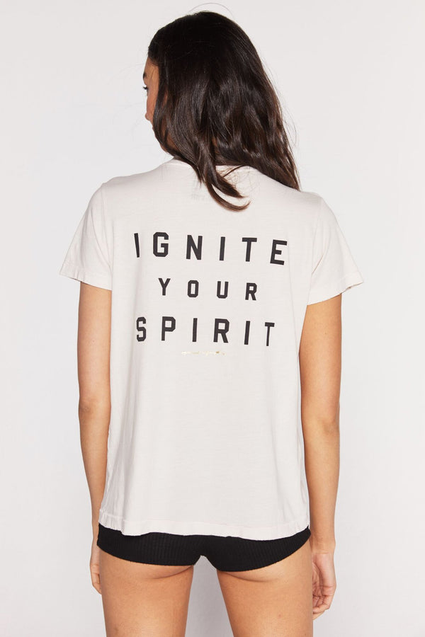IGNITE YOUR SPIRIT AURORA TEE - Spiritual Gangster