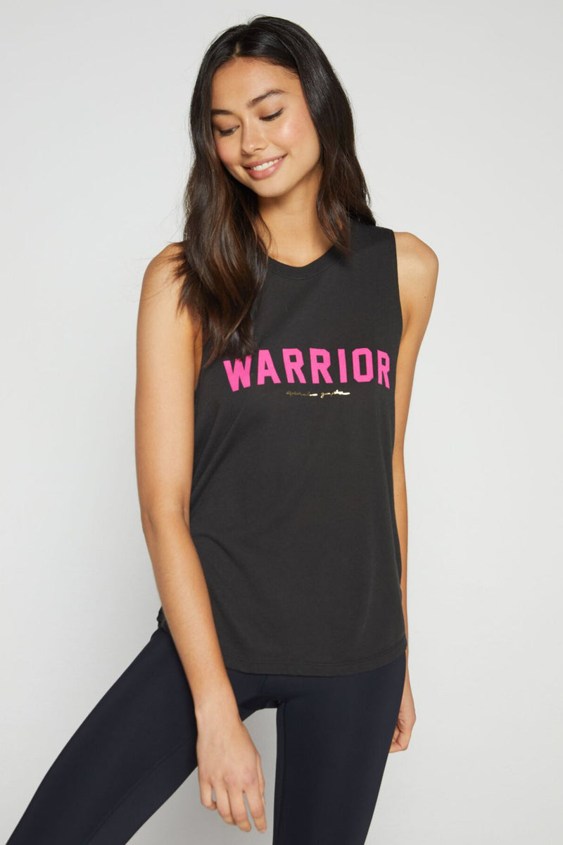 Warrior Breast Cancer Awareness Muscle Tank