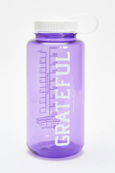 GRATEFUL NALGENE 32OZ WATER BOTTLE PURPLE - Spiritual Gangster