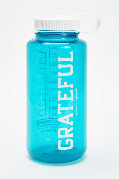 GRATEFUL NALGENE 32OZ WATER BOTTLE JADE - Spiritual Gangster