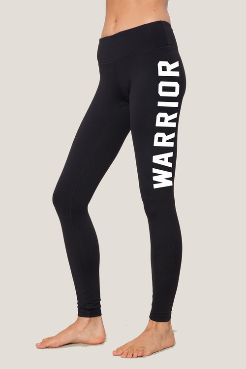 Warrior Athletic Practice Legging - Spiritual Gangster