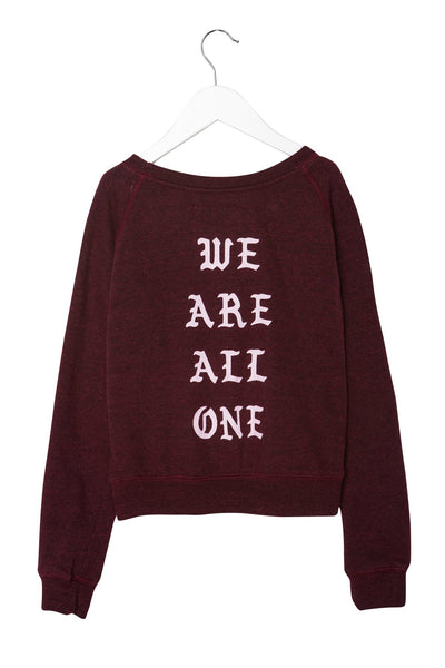 WE ARE ALL ONE KIDS SWEATSHIRT - Spiritual Gangster