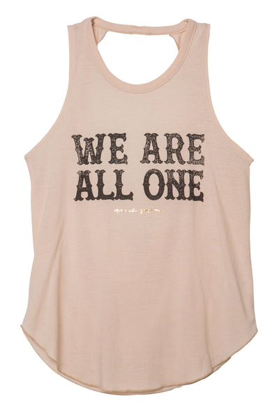WE ARE ALL ONE STUDIO TANK SAND - Spiritual Gangster
