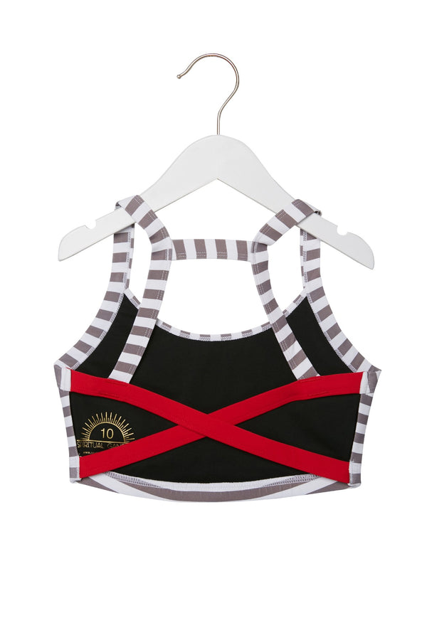 WRAPPED IN LOVE KIDS ACTIVE BRALETTE - Spiritual Gangster