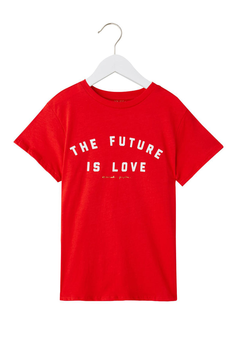 Future Is Love Kids Tee