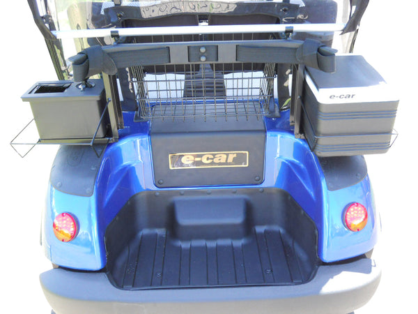 ECAR Golf LT-A2D 2 Seat Golfers Electric Buggy Cart Cheap Best Quality Esky Club Ball Washer Basket