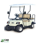 Load image into Gallery viewer, White ECAR LT-A2+2 4 Seat Electric Golfers Community Cart Buggy