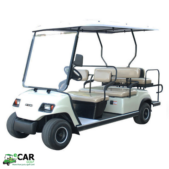 ECAR LT-A4+2 - 6 Seat Golf Cart Community Vehicle