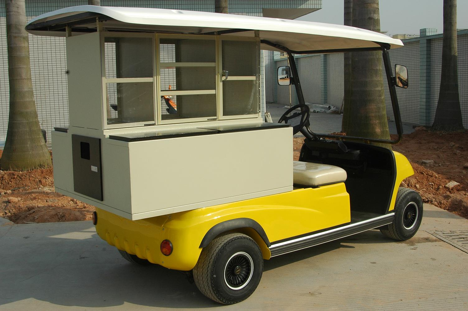 ECAR LT-A2.PC - 2 Seat Electric Catering Cart Buggy Hotel Resort Event Cater