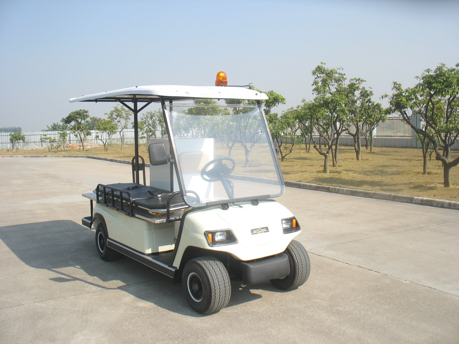 Front Photo ECAR LT-A2.HS2 - MEDI CART Electric Ambulance Buggy