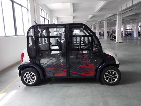 Side Photo Doors ECAR 4 Seat LT-S4.DB Community Electric Cart