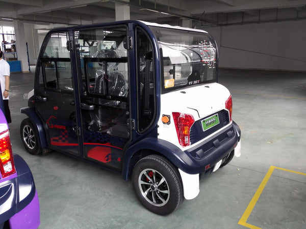 Rear Photo ECAR 4 Seat LT-S4.DB Community Electric Cart