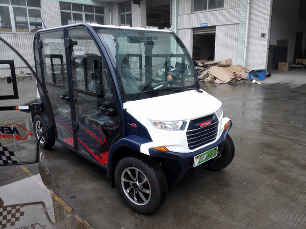 Outside ECAR 4 Seat LT-S4.DB Community Electric Cart