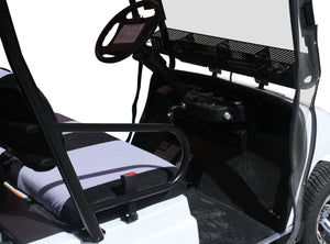 Interior Photo White ECAR LT-A2.AH2 - 2 Seat Utility Electric Cart Buggy Rear Tray Transport