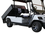 Load image into Gallery viewer, Side Photo White ECAR LT-A2.AH2 - 2 Seat Utility Electric Cart Buggy Rear Tray Transport
