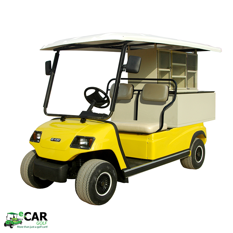 ECAR LT-A2.PC - 2 Seat Electric Commercial Catering Cart Buggy