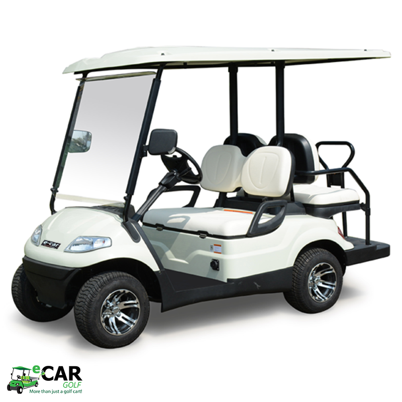 ECAR LT-A627.2+2 - 4 Seat Deluxe Community Golf Cart