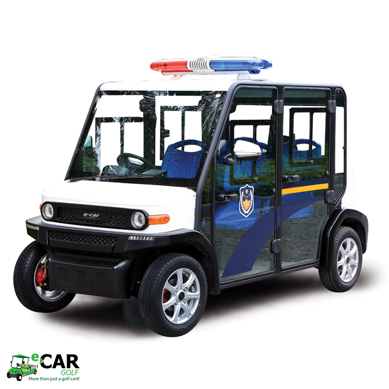 ECAR LT-S4.PBC - 4 Seat Electric Patrol Cart