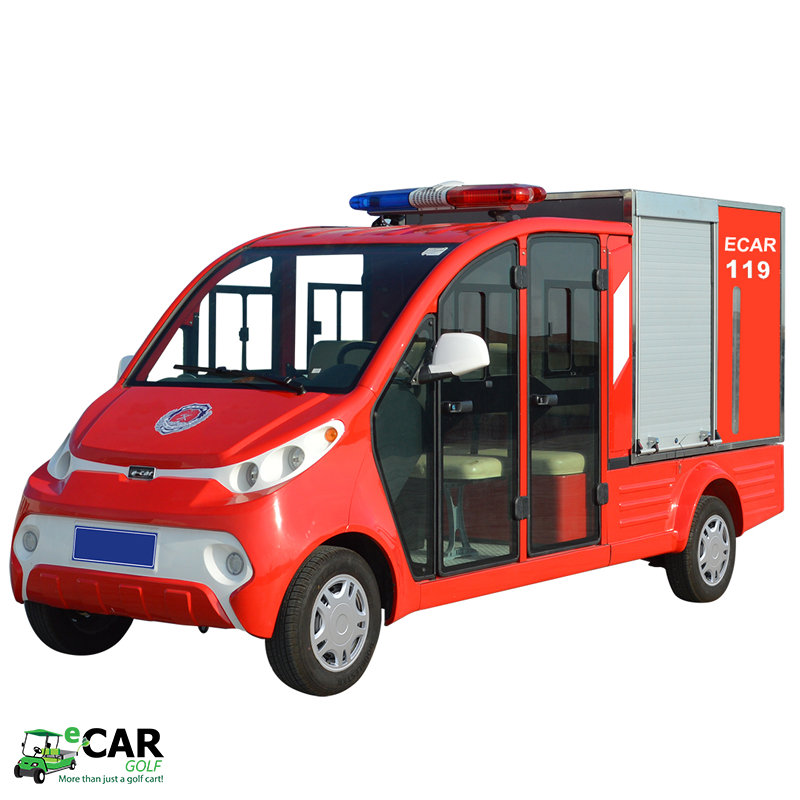 ECAR LT-S4.XF - 4 Seat Firefighter Cart