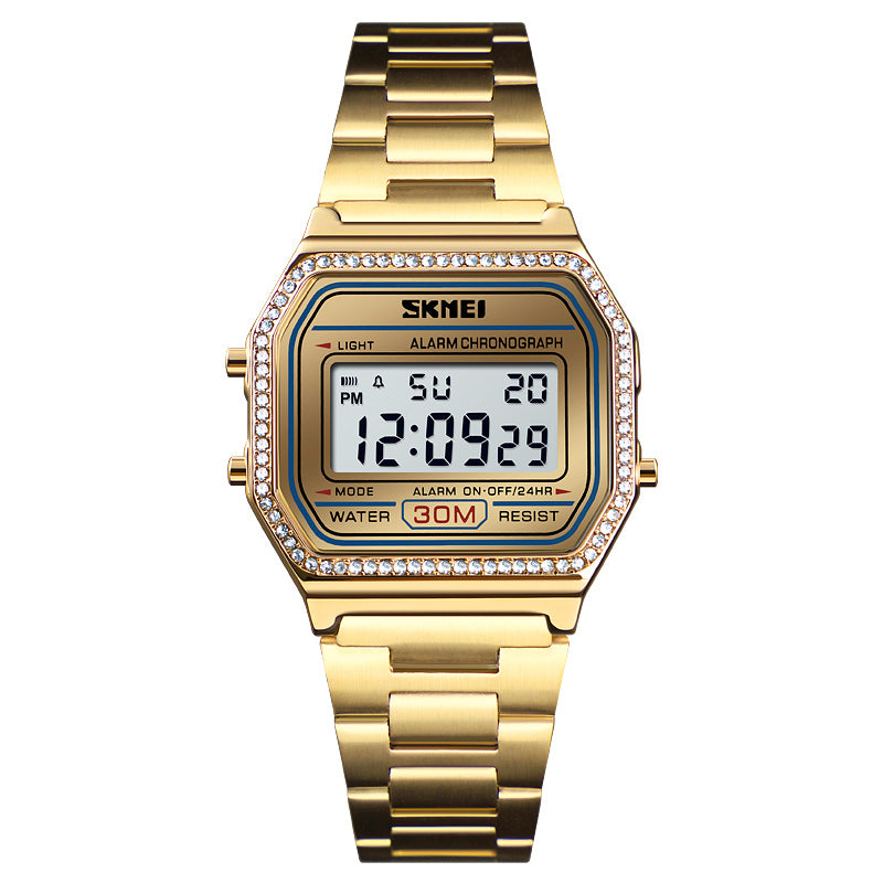 SKMEI 1474 Women Jewelry Digital  Watches