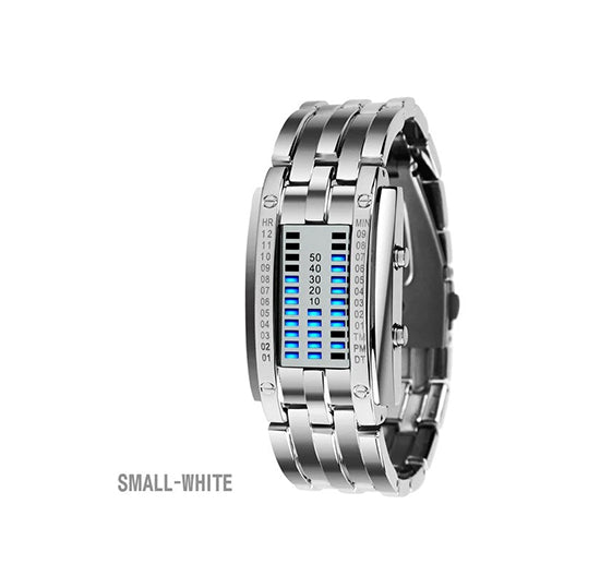 SKMEI  Stainless Steel Strap LED Display Watches