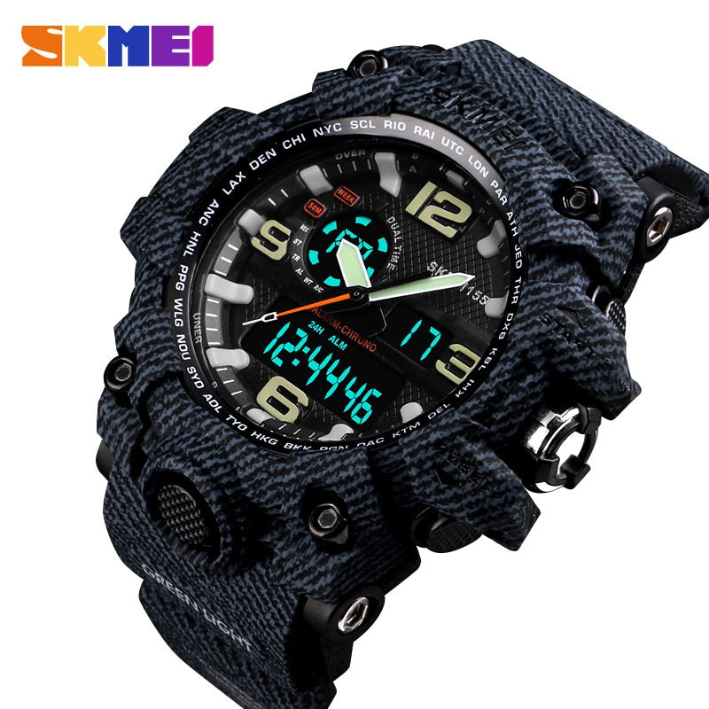 SKMEI NEW 1155 Waterproof  Sports Watches 01