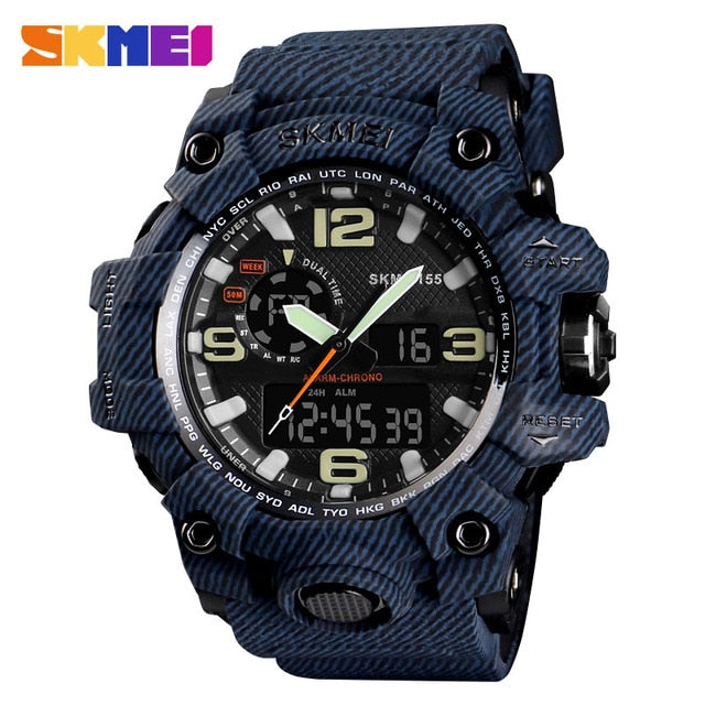 SKMEI NEW 1155 Waterproof  Sports Watches 06