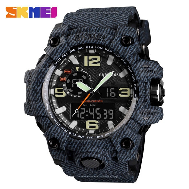 SKMEI NEW 1155 Waterproof  Sports Watches 14