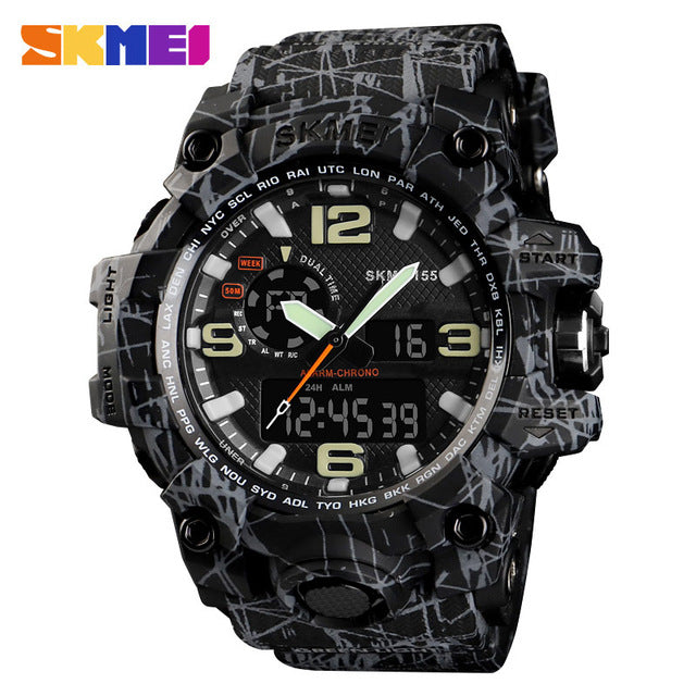SKMEI NEW 1155 Waterproof  Sports Watches 07