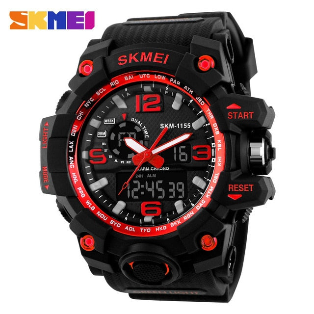SKMEI NEW 1155 Waterproof  Sports Watches 08