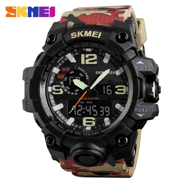 SKMEI NEW 1155 Waterproof  Sports Watches 12