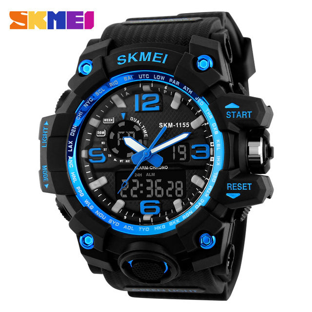 SKMEI NEW 1155 Waterproof  Sports Watches 09