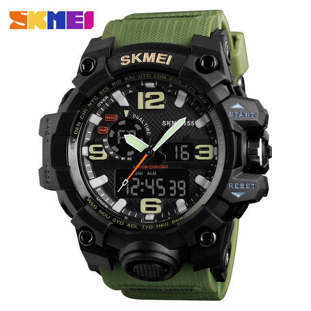 SKMEI NEW 1155 Waterproof  Sports Watches 13