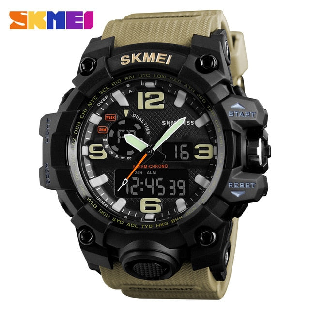 SKMEI NEW 1155 Waterproof  Sports Watches 10