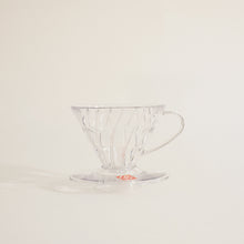 Load image into Gallery viewer, Hario V60-01 Clear Dripper