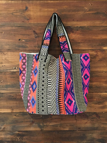 Tribal Print Bag