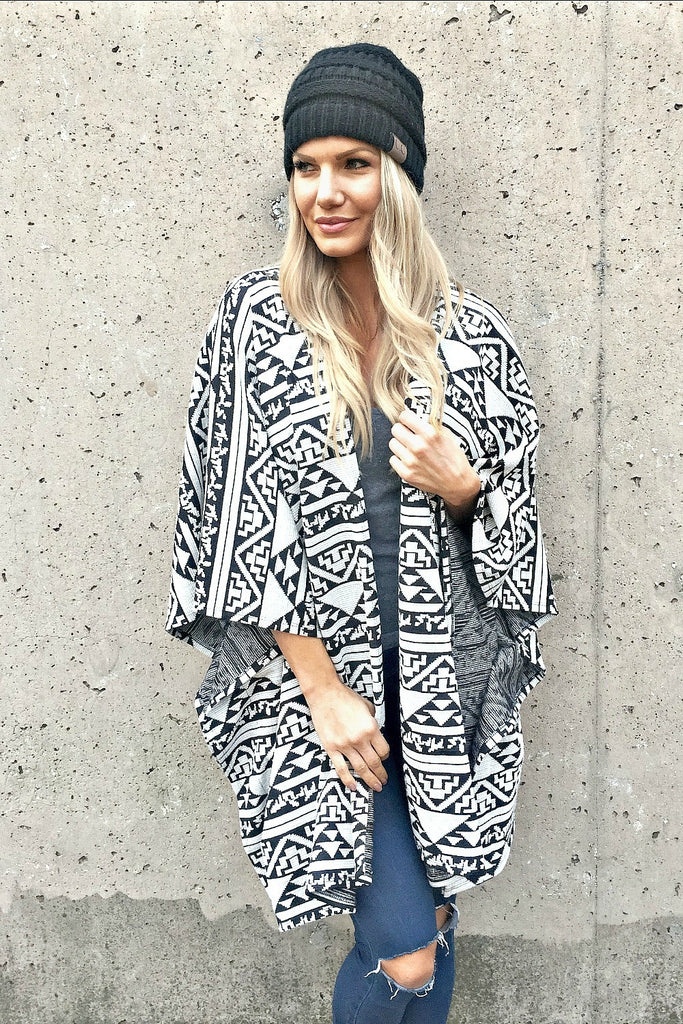 Over Sized Aztec Cardi