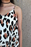 Leopard Me Go Mini Dress