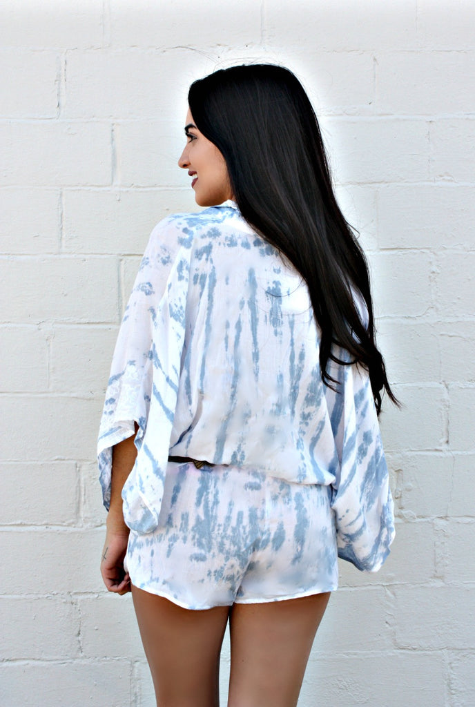 Skyed Dyed Romper