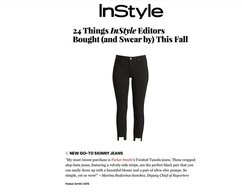 Back in Stock! The Twisted Tuxedo Pant by Parker Smith!