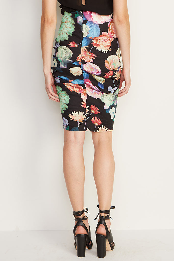 Nicole Miller - The Sandy Skirt in new floral print - Lydia's World Boutique