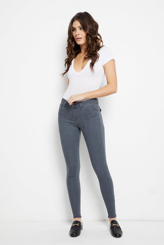 Parker Smith - Ava Skinny in Grey Cloud