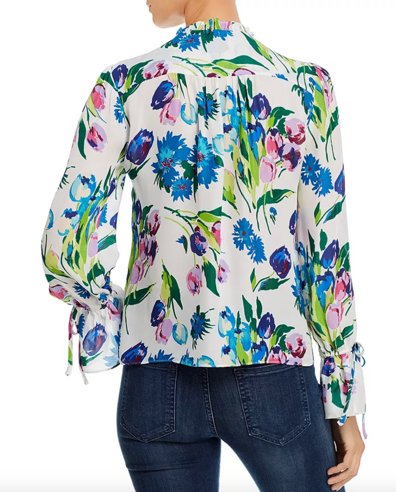 Parker - Cassidy Floral Silk Blouse