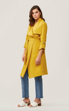 Soia & Kyo - Ornella Trench Coat in Sun Flower