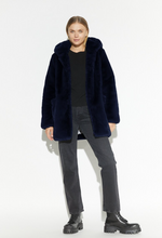 Apparis - The Maria Coat in Navy Blue Best Seller! Gorgeous Color! 50% OFF SALE