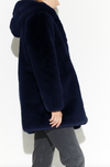 Apparis - The Maria Coat in Navy Blue Best Seller! Gorgeous Color!